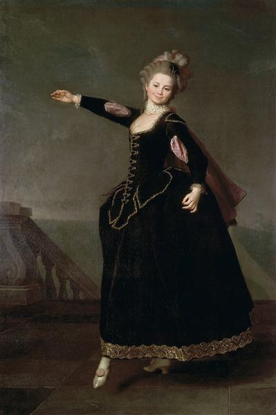 Natalia Borshchova, 1776 - Dmitri Levitski