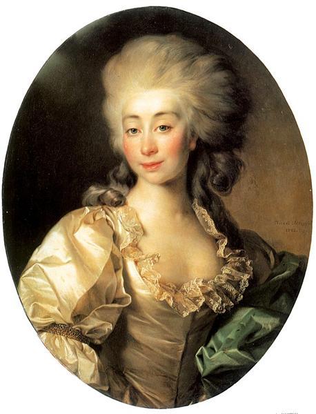 Portrait of Ursula Mniszech, 1782 - Dmitry Levitzky