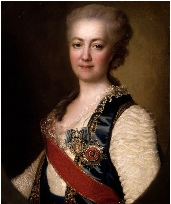 Princess Vorontsova Dashkova, 1784 - Dmitry Levitzky