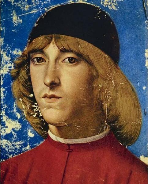 Piero, Eldest Son of Lorenzo the Magnificent, Called Piero the Unfortunate - Domenico Ghirlandaio