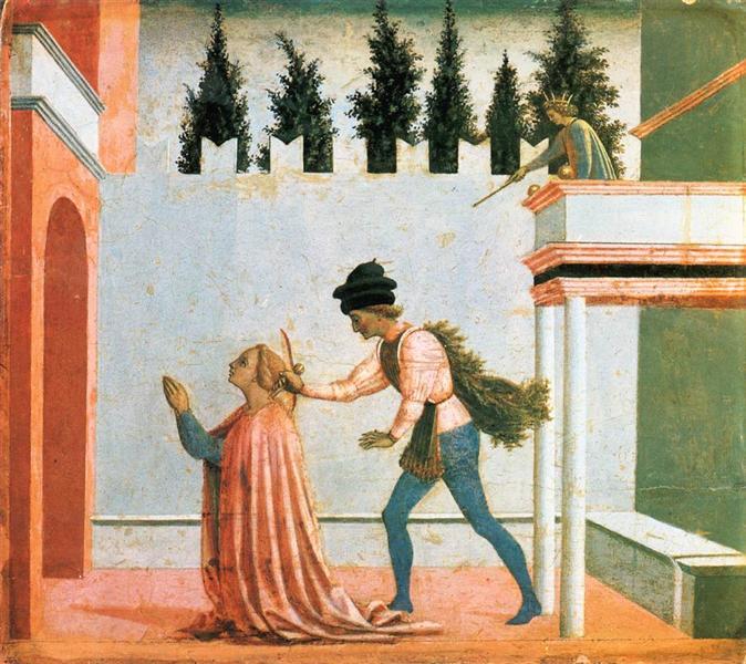 Martyrdom of St. Lucy, c.1445 - c.1448 - Domenico Veneziano