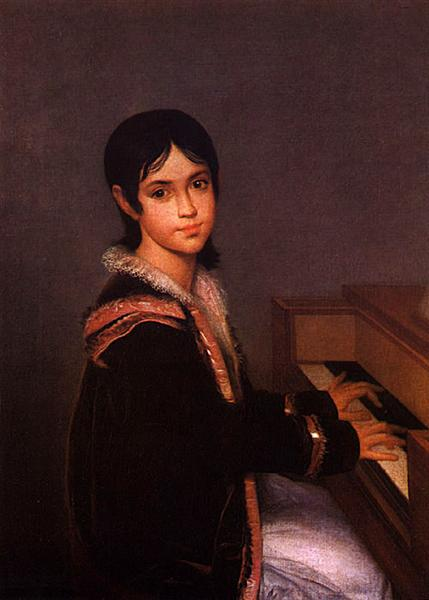 Mariana Benedita Sequeira, 1822 - Domingos Sequeira
