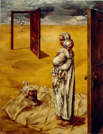 Maternity, 1946 - 1947 - Dorothea Tanning