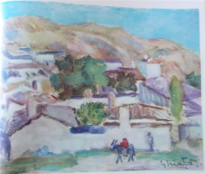 Landscape from Balcic, 1929 - Dumitru Ghiatza
