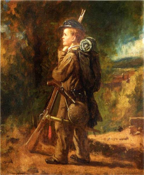 Little Soldier - Eastman Johnson