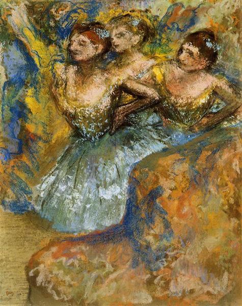 Group of Dancers, c.1900 - c.1910 - Edgar Degas