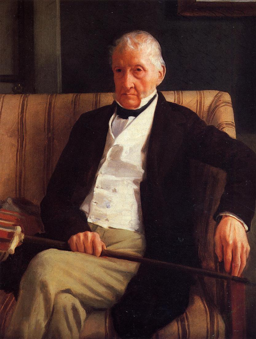 Edgar Degas, Portrait d'Hilaire de Gas, son grand-père