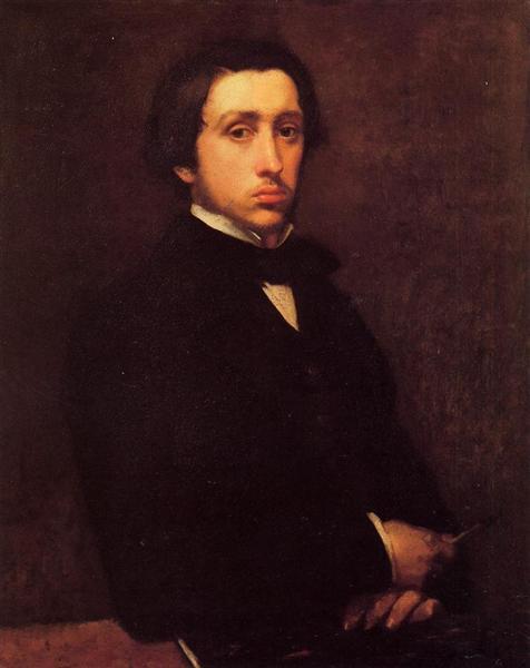 Self Portrait, 1855 - Edgar Degas