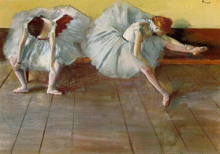 Two Ballet Dancers, c.1879 - Edgar Degas