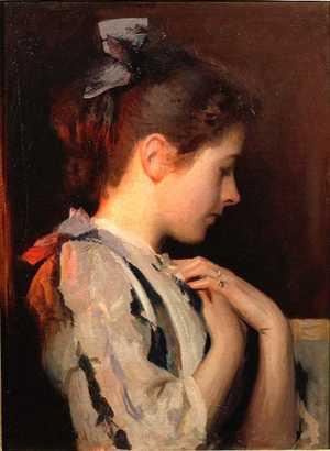 Amethyst, c.1893 - Edmund Charles Tarbell