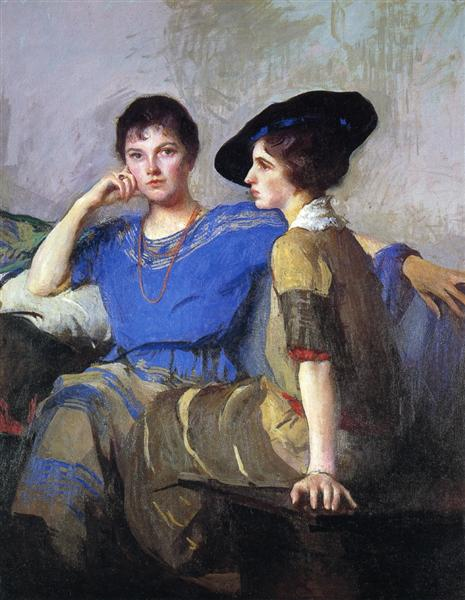 The Sisters, 1921 - Edmund Tarbell