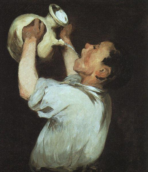 A boy with a pitcher, 1862 - Edouard Manet