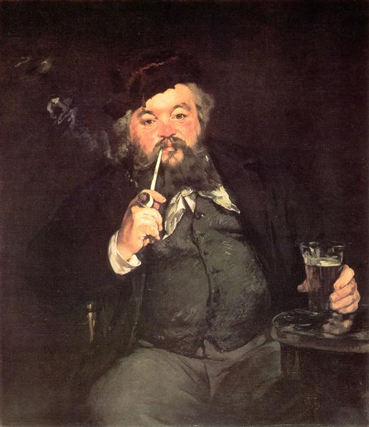 A Good Glass of Beer, 1873 - Edouard Manet