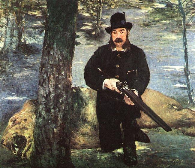 Pertuiset, Lion Hunter, 1881 - Edouard Manet