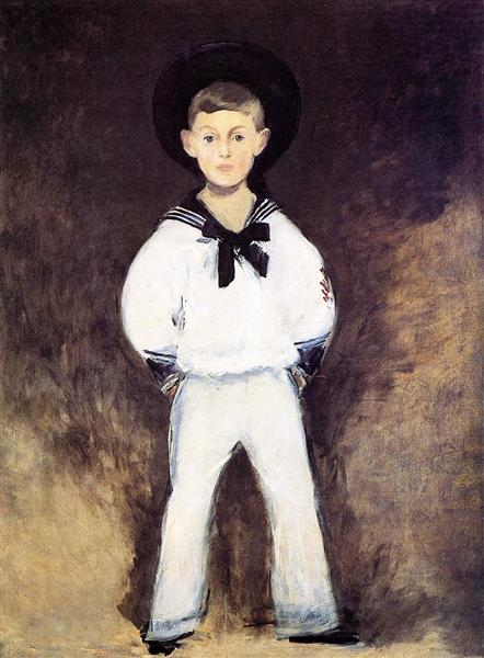 Portrait of Henry Bernstein as a Child, 1881 - Edouard Manet