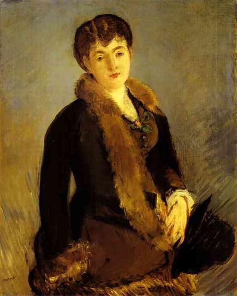 Portrait of Mademoiselle Isabelle Lemonnier, c.1879 - Edouard Manet