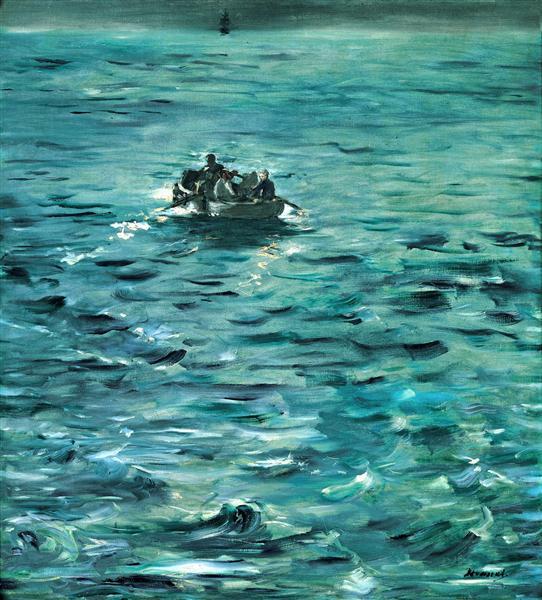 Rochefort's Escape, c.1881 - Edouard Manet