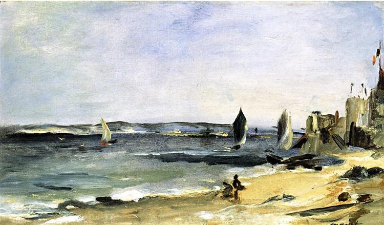 Seascape at Arcachon (Arcachon, beautiful weather), 1871 - Edouard Manet