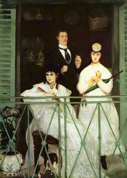The Balcony, 1869 - Édouard Manet