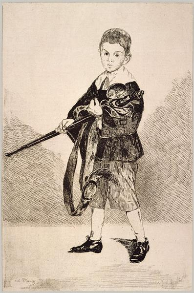 The Boy with a Sword, 1862 - Edouard Manet
