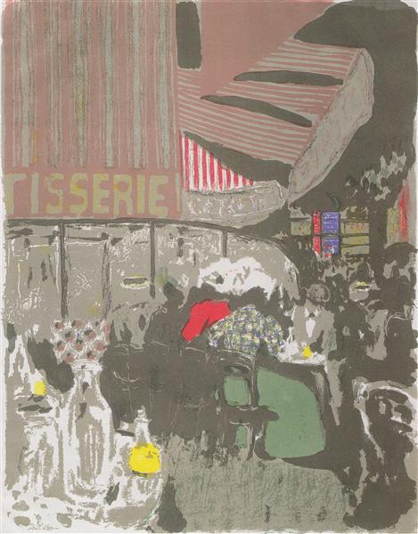 TheCake Shop, 1899 - Edouard Vuillard