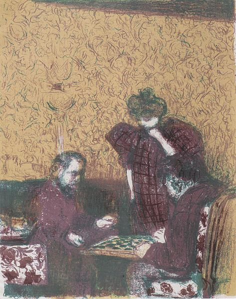 TheDamepartie, 1899 - Edouard Vuillard