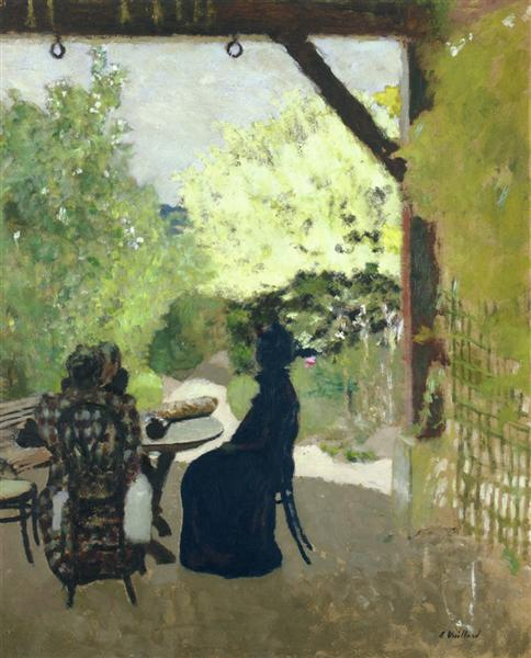 Under the Portico, 1899 - 1900 - Edouard Vuillard