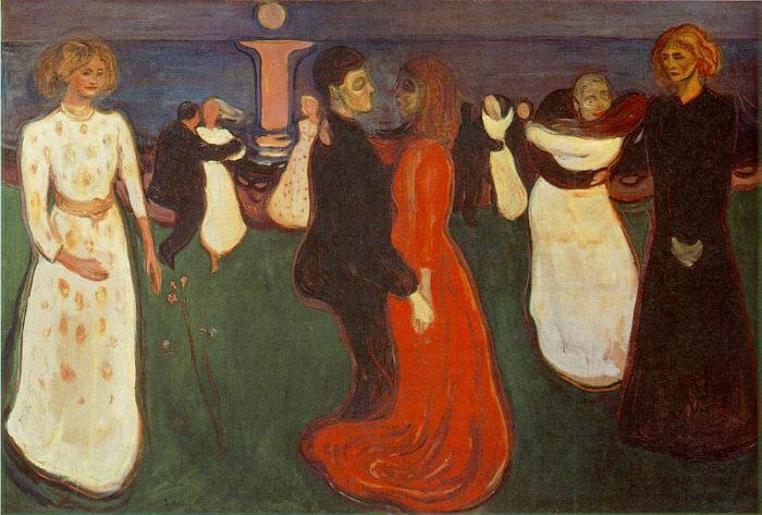 Dance Of Life - Munch Edvard