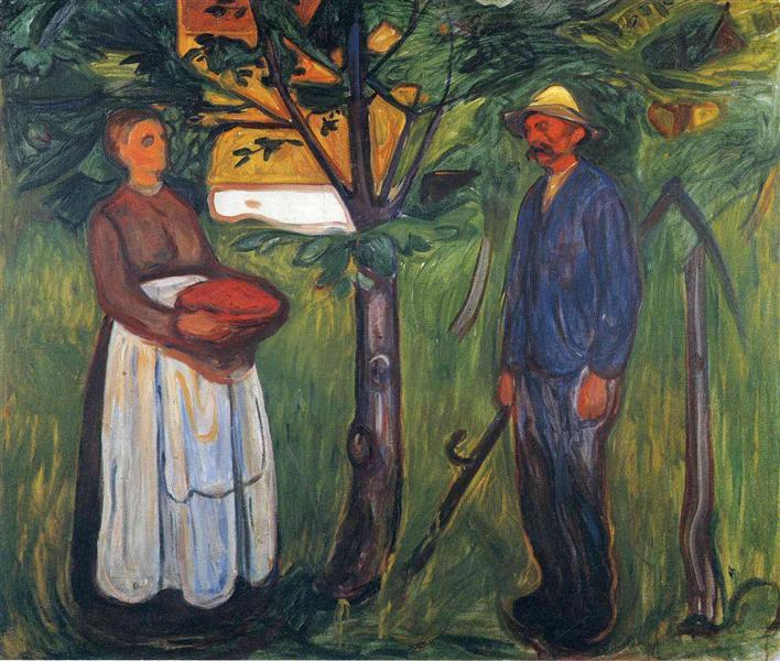 Fertility II, 1902 - Edvard Munch