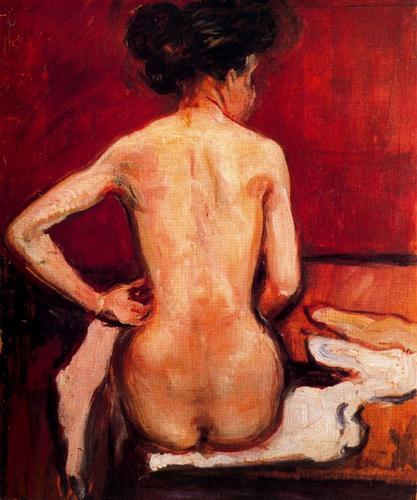 Nude - Edvard Munch