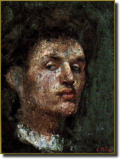 Self portrait, 1886 - Edvard Munch