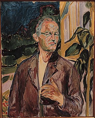 Self-Portrait, 1926 - Edvard Munch