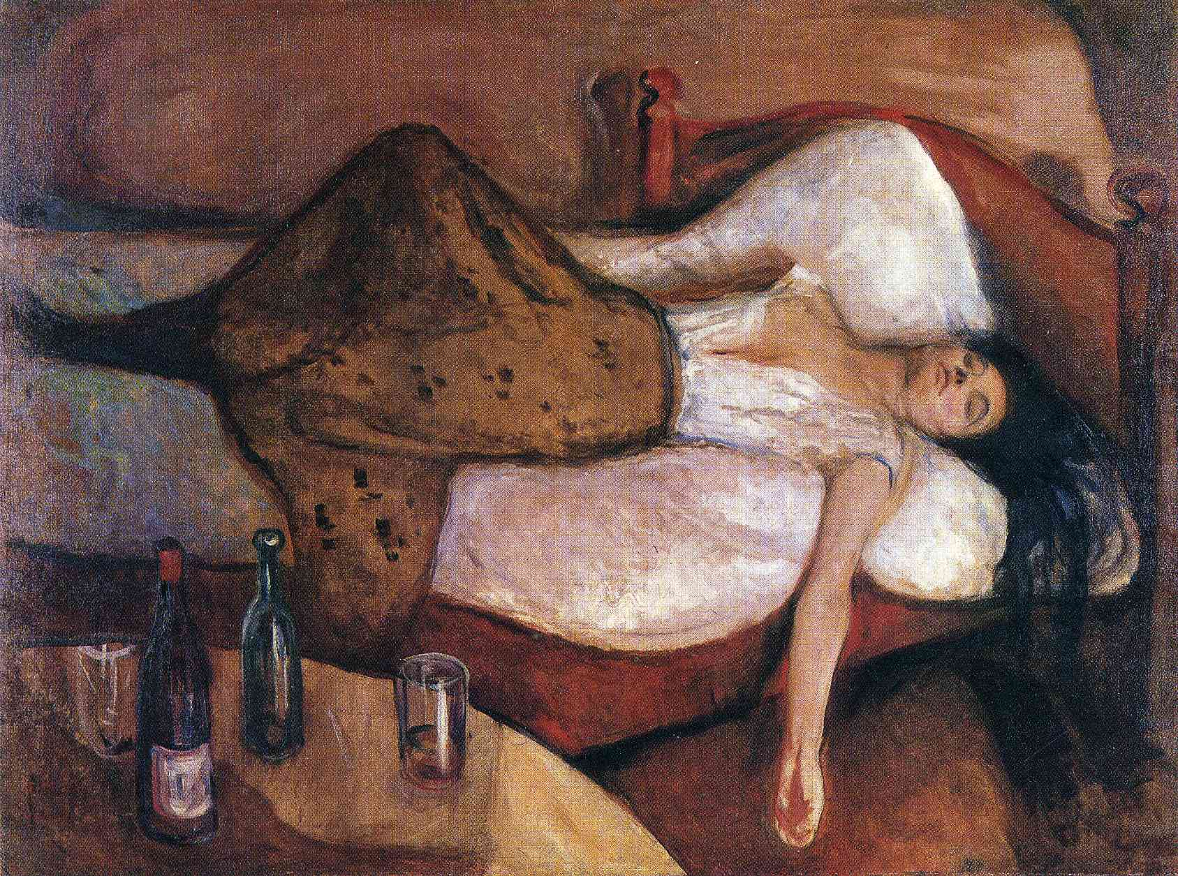 Il marito senza alcool non può addormentarsi