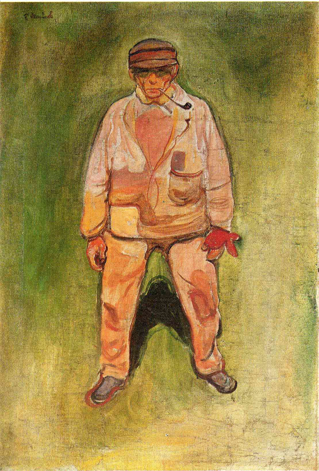 The Fisherman Edvard Munch Wikiart Org