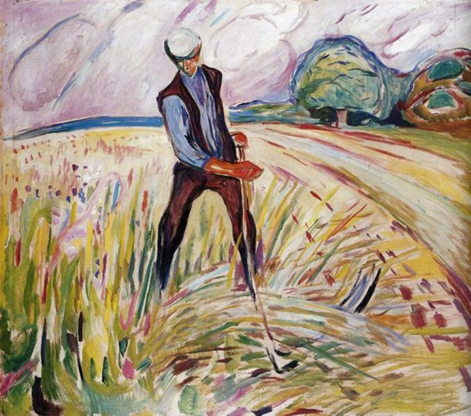 The Haymaker, 1916 - Edvard Munch