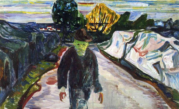 The Murderer, 1910 - Edvard Munch