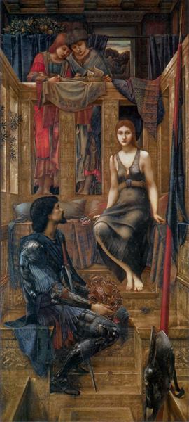 King Cophetua and the Beggar Maid, 1880 - 1884 - Edward Burne-Jones