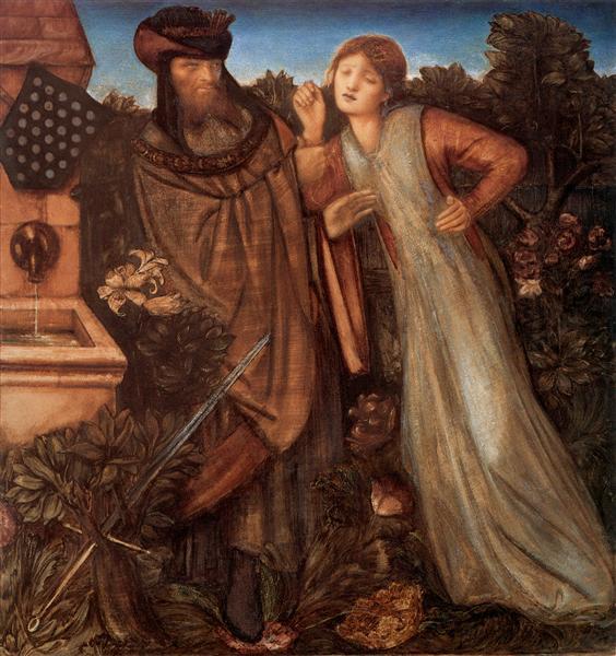 King Mark and La Belle Iseult - Edward Burne-Jones