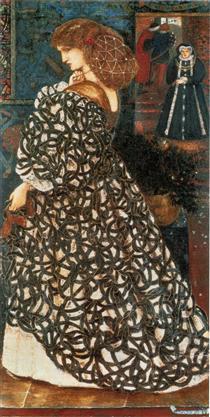 Sidonia von Bork - Edward Burne-Jones