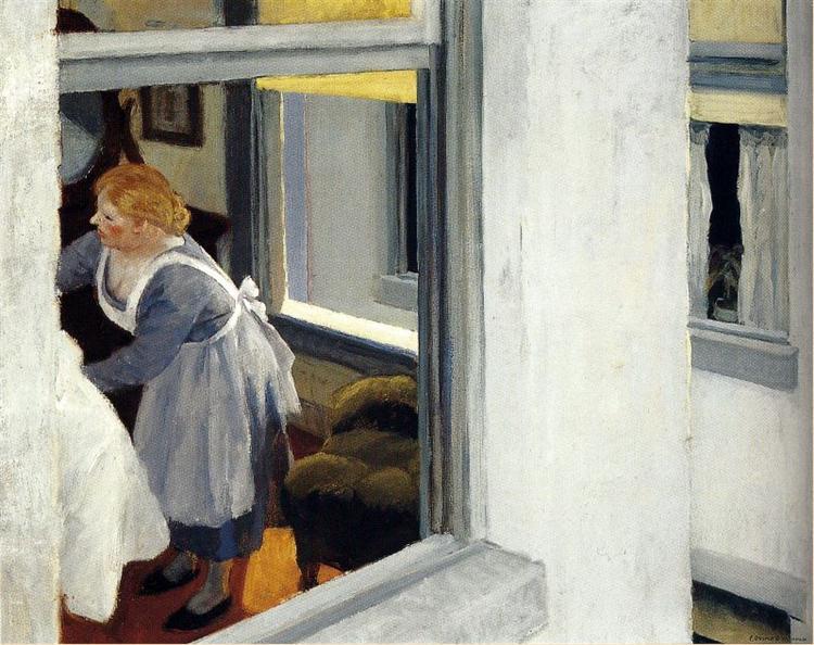Apartment Houses, 1923 - Edward Hopper