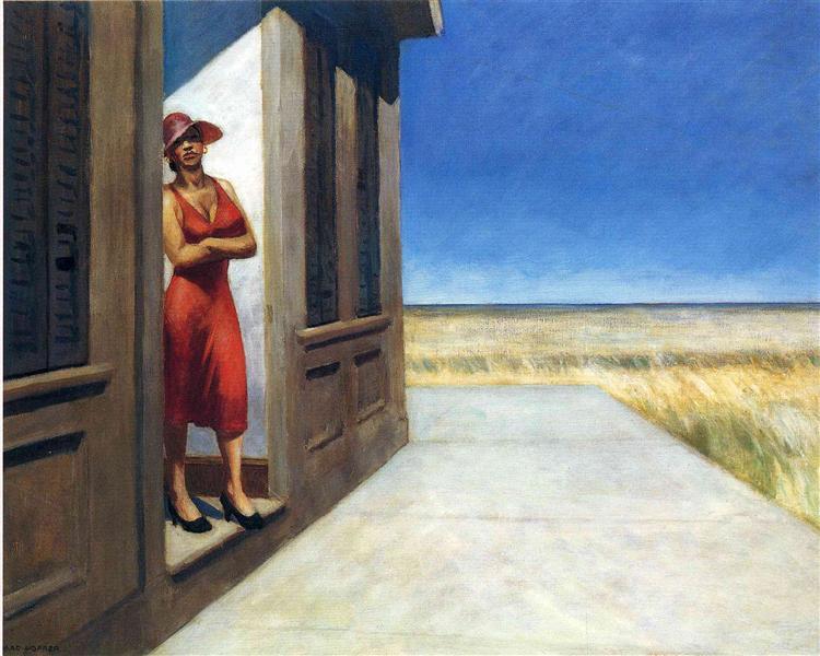 Carolina Morning, 1955 - Edward Hopper