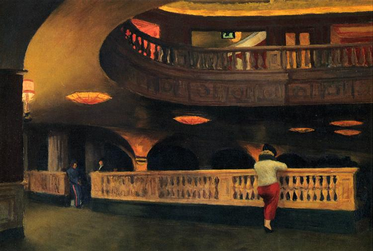 Sheridan Theatre, 1937 - Edward Hopper