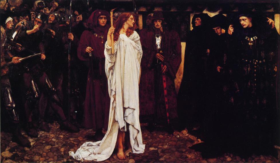La pénitence d'Eléanor, Duchesse de Glouster, 1900