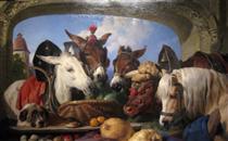 A Group of Animals, Geneva - Эдвин Генри Ландсир