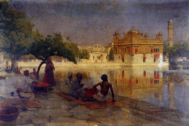 The Golden Temple, Amritsar - Edwin Lord Weeks