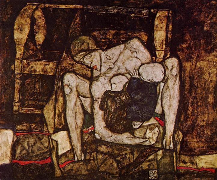 Blind Mother, 1914 - Egon Schiele