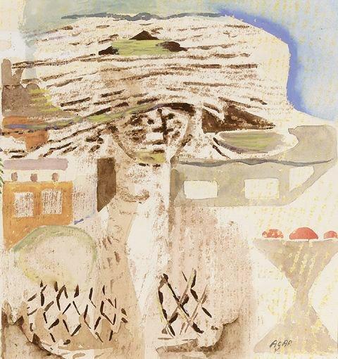 Surrealist Hat, 1956 - Eileen Agar