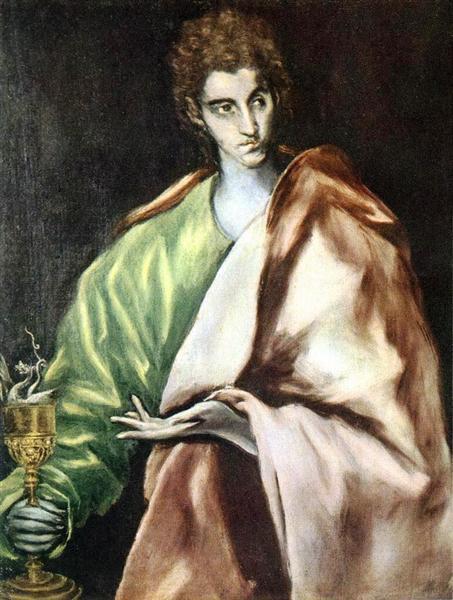 Apostle St. John the Evangelist, c.1612 - El Greco