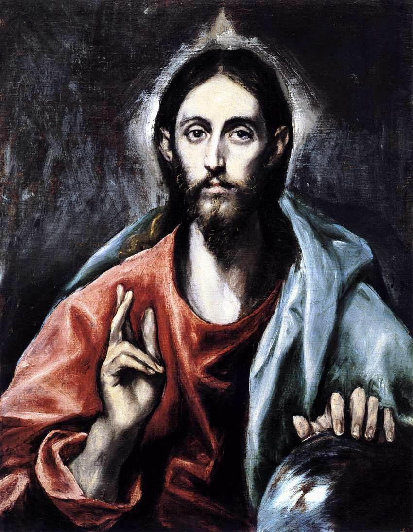 Image result for christ by el greco