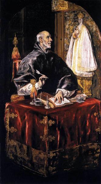 St. Idelfonso, c.1607 - El Greco